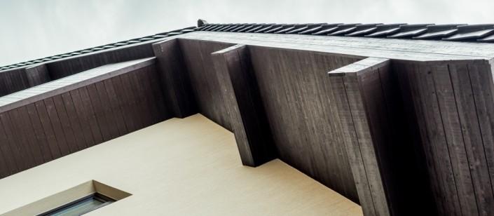 Medenio stoginės lentos yra nedažytos, todėl klientas jas gali prisitaikyti savo namui.