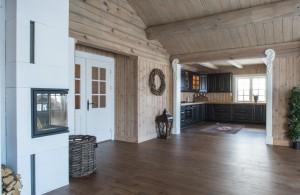 Medenio medinės vidaus dailylentės sienų ir lubų apdailai